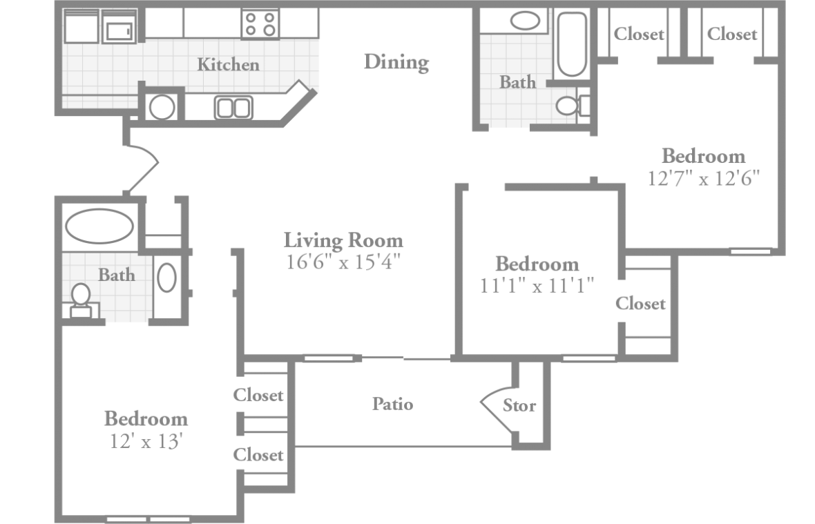 Medium image of room dimensions